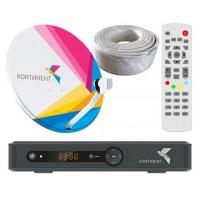 Комплект Континент ТВ  (220 каналов) ШАРИНГ + 6 месяцев в подарок