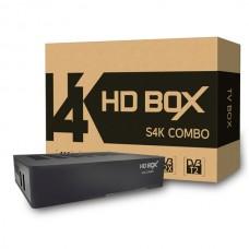 Комбинированный ресивер HD BOX S4K COMBO